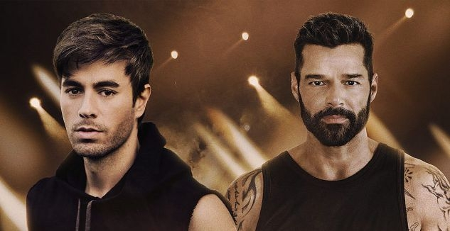 Enrique Iglesias and Ricky Martin at MGM Grand Garden Arena, Las Vegas 9/25/21. Buy Tickets on NorthLasVegas.com