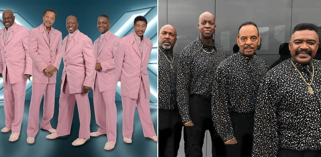 The Spinners & The Trammps at Cannery Hotel & Casino, Las Vegas 11/5/21