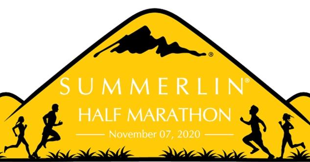 Summlerlin Half Marathon 2021, Las Vegas 9/25/21 (rescheduled from 2020)