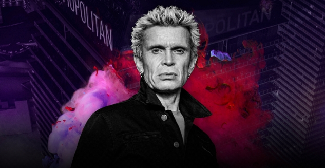 Billy Idol Tickets! The Chelsea at The Cosmopolitan of Las Vegas Oct 16, 17, 22, 23, 2021