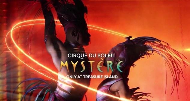 Cirque du Soleil: Mystére Tickets! Treasure Island, Las Vegas