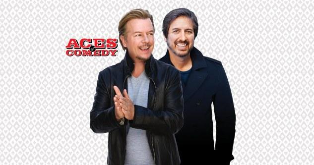 Ray Romano & David Spade Tickets! The Mirage Theatre at Mirage Las Vegas Oct & Dec 2021 | Aces of Comedy