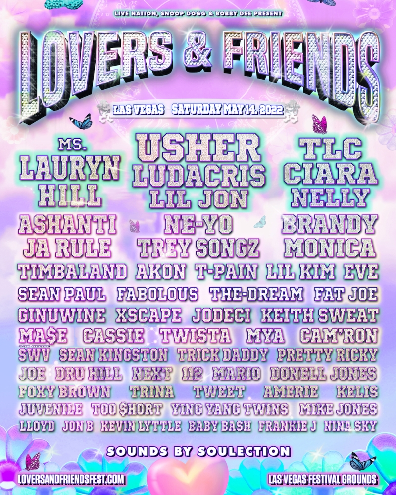 Lovers and Friends Festival 2022 Lineup