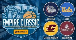 Empire Classic Las Vegas! T-Mobile Arena, November 22-23, 2021. Buy Tournament Tickets on NorthLasVegas.com